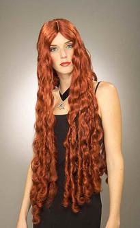Long Red Mermaid Melisandre of Asshai Wig