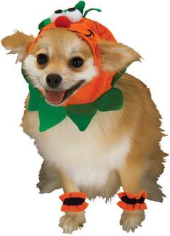 Halloween Pumpkin Small Dog Pet Costume