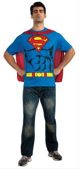 Superman T-Shirt Costume Kit