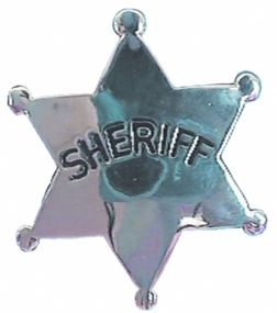Police Sherriff's Badge