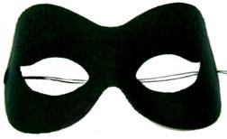 Defile Black or White Costume Eye Mask