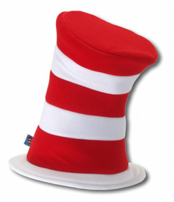 Cat in the Hat, Red and White Striped Hat