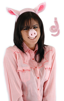 Pig Nose, Ears and Tail Set