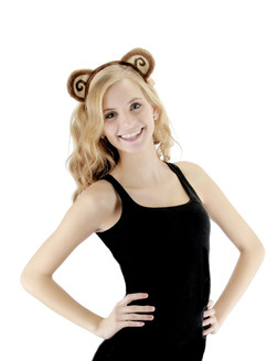 Monkey Ears and Tail Set