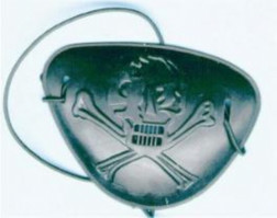Plastic Pirate Eyepatch
