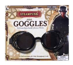Steampunk Black Goggles
