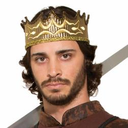 Gold Medieval Kings Crown