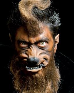 Werewolf Dog Face