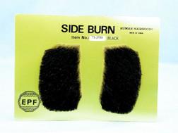 Black Elvis Sideburns