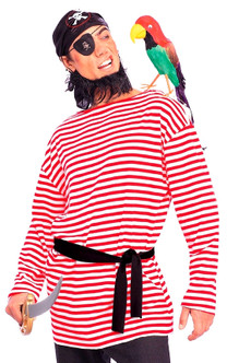Red and White Pirate Shirt