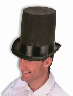 Lincoln Stove Pipe Tall Top Hat