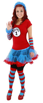 The Cat in the Hat Thing 1, Thing 2 Socks