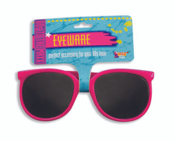 80s Wayfair Pink Glasses