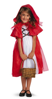 Toddler's  Red Riding Hood Costume