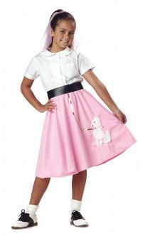 50s Children's Poodle Skirt Costume Piece