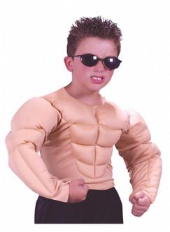 Kids Muscle Shirt Costume