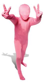 Kids Pink Morphsuit Full Body Costume