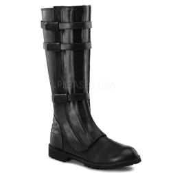 Men's Basic Black Walker Boots
