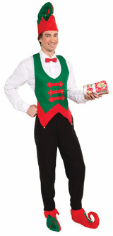 Christmas Elf Hat and Shoe Covers Kit