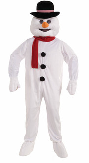 Winter Snowman Mascot Costume
