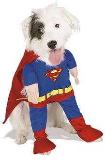 Deluxe SuperMan Pet Costume