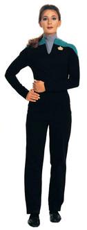 Lt. Dax Star Trek Deep Space Nine Burgundy Costume