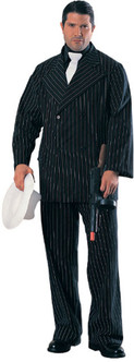 Gangster Suit Deluxe Mens Costume