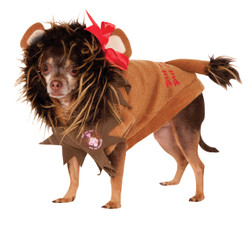 Wizard of Oz Cowardly Lion Pet Costume