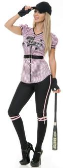 Women's Baseball Costume