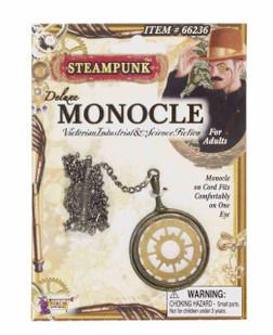 Steampunk Gear Monicle