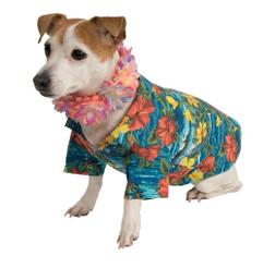 Hawaiian Luau Pet Shirt Costume