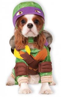 Donatello Teenage Mutant Ninja Turtle Pet Costume