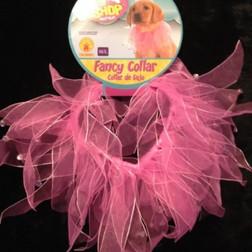 Fancy Pink Pet Collar