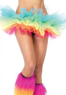 Deluxe Rainbow Pride Pastel Organza Tutu