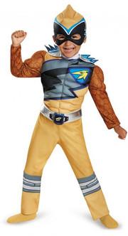 Toddler/Children's Gold Power Ranger Dino Charge Costume