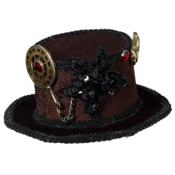 Steampunk Mini Hat with Gears