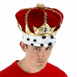 Royal Red King Hat