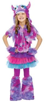 Children's Purple Polka Dot Monster Costume