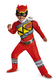 Toddler's Red Power Ranger Dino Charge Costume