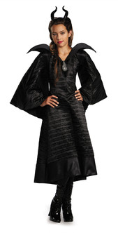 Children's Deluxe Christening Gown - Maleficant Movie Costume