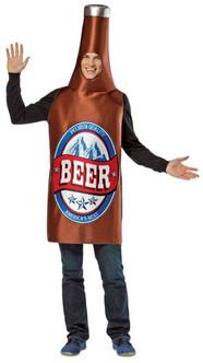 Adult Funny Beer Bottle Costume
