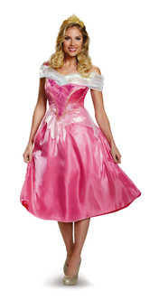Sleeping Beauty Aurora Deluxe Adult Costume