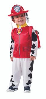 Toddler's Fireman Marshall Paw Patrol Costume