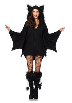 Ladies Cozy Bat Costume