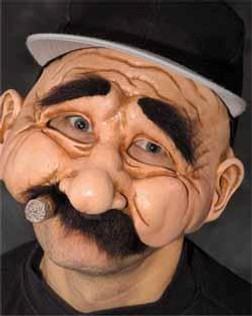 Stanley Chubby Man Mask with Cigar