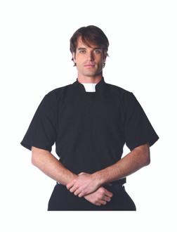 Men's Priest Costume Shirt