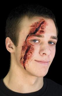 Slashed Eye Latex Prosthetic