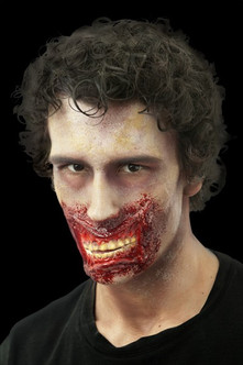 Chatter Grotesque Zombie Face Mouth Prosthetic
