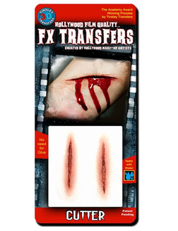 Cutter FX Gashes, Easy Prosthetic Transfers