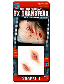 """""""Shanked"""" Knife Wounds, Easy FX Transfer"""